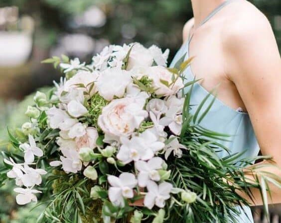 Bridal bouquet featured in Southern Bride and Groom