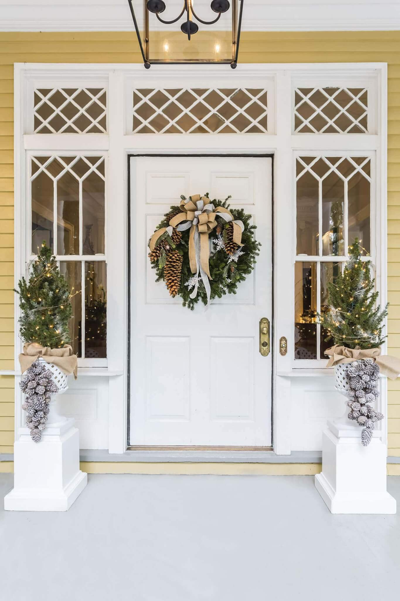 Holiday decor featured in Walter Magazine