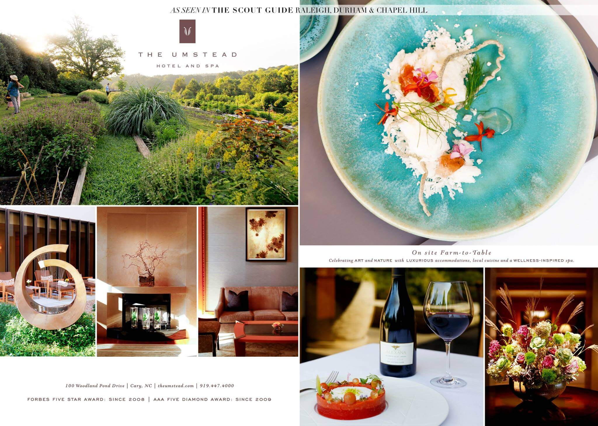 The Umstead Hotel and Spa in The Scout Guide