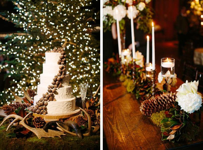 Winter decor at Pavilions at the Angus Barn